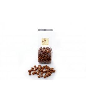 Grains de café enrobés au...