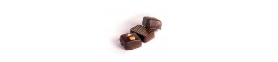 Pralines chocolat noir